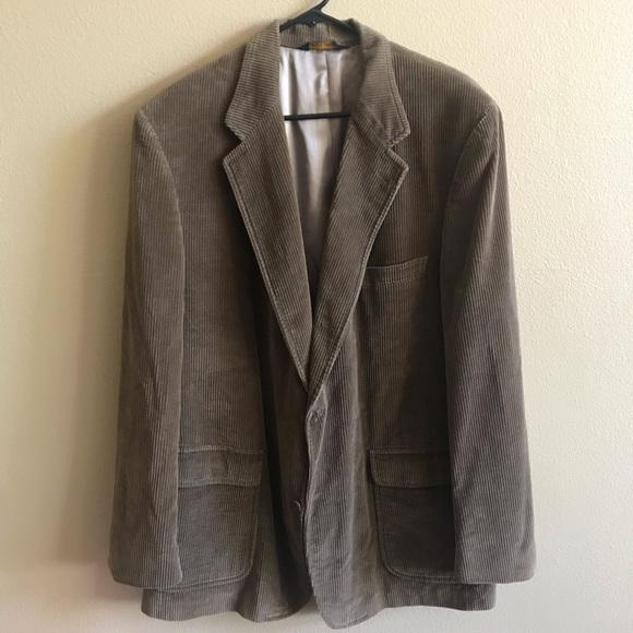 Brooks Brothers Other - Brooks Bros men 46 L corduroy sports coat jacket